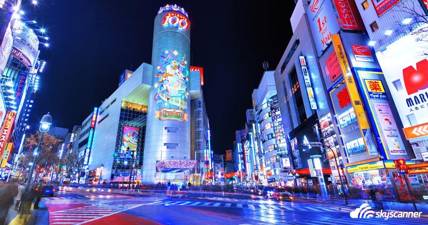 ย่านชินจูกุ ฮาราจูกุ โอไดบะ - ที่เที่ยวญี่ปุ่น